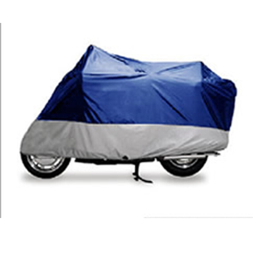 Surpercart 180 t of blue with silver motorcycle car/hood/clothing XL 245 * 105 * 125