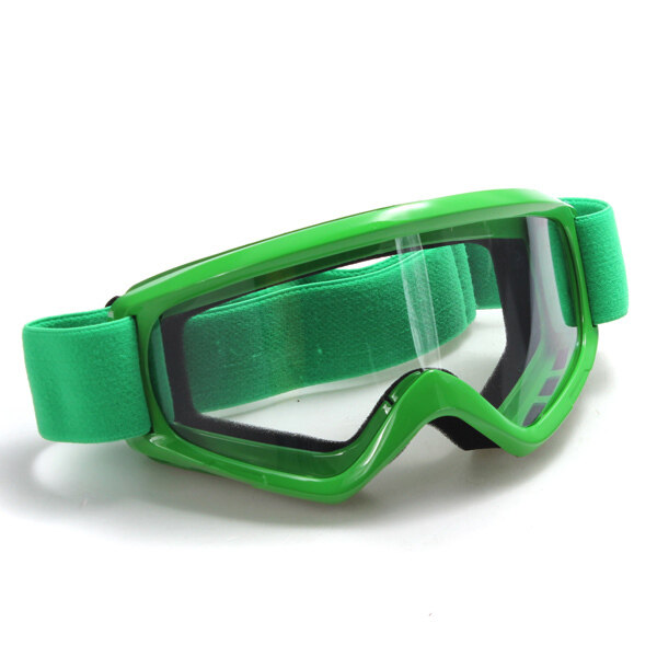 T815-39 Padded Sport Motocross Motorcycle Goggles Safety Glasses Green