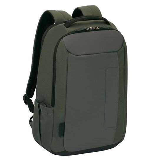 "Targus TSB786AP 15.6"" Slate Backpack (Grey/Green) Produced in Korea"