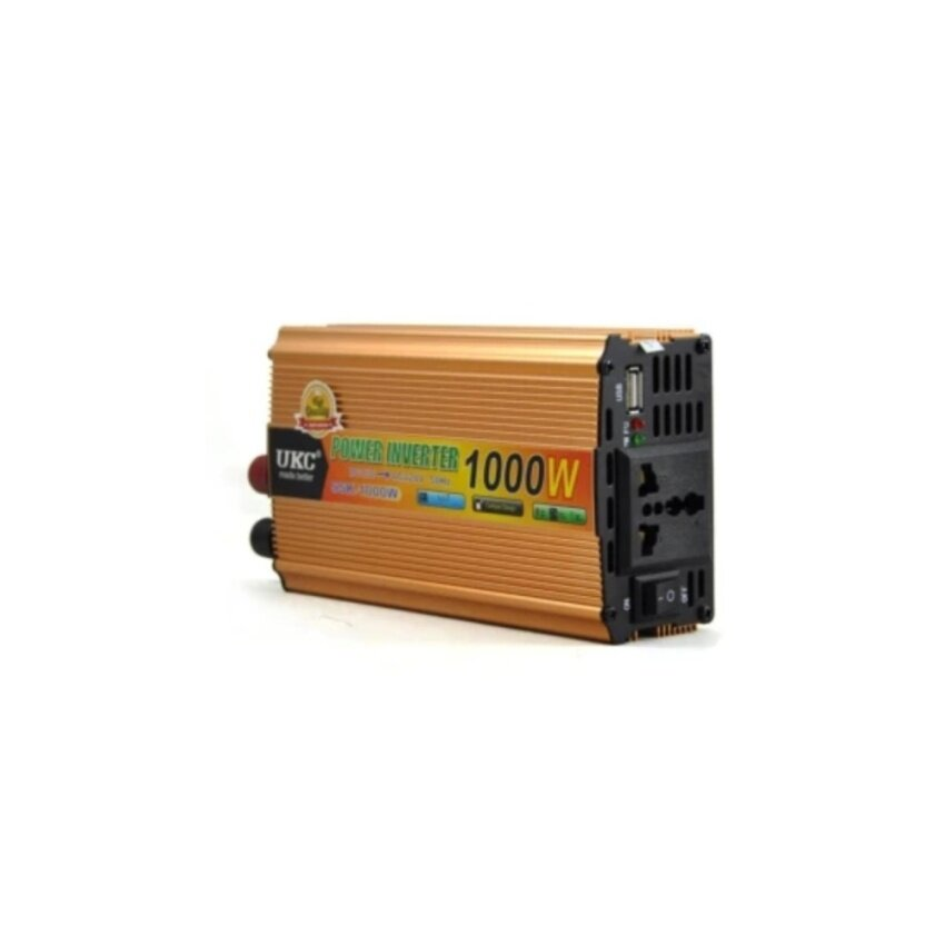 Thaivasion UKC Power Inverter 1000W with Charger 12V DC to 220V AC Output