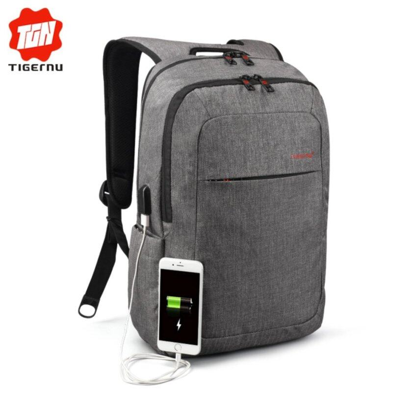 Tigernu Anti-thief Light Weight Backpack With USB Charging Port For 12-15inches Laptop3090USB - intl
