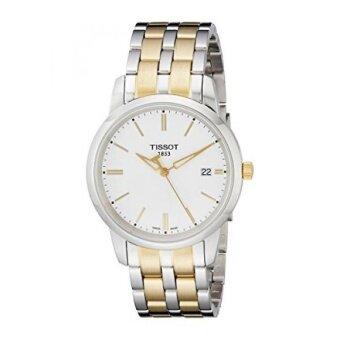 Tissot Mens T033.410.22.011.00 White Dial Classic Dream Watch - intl