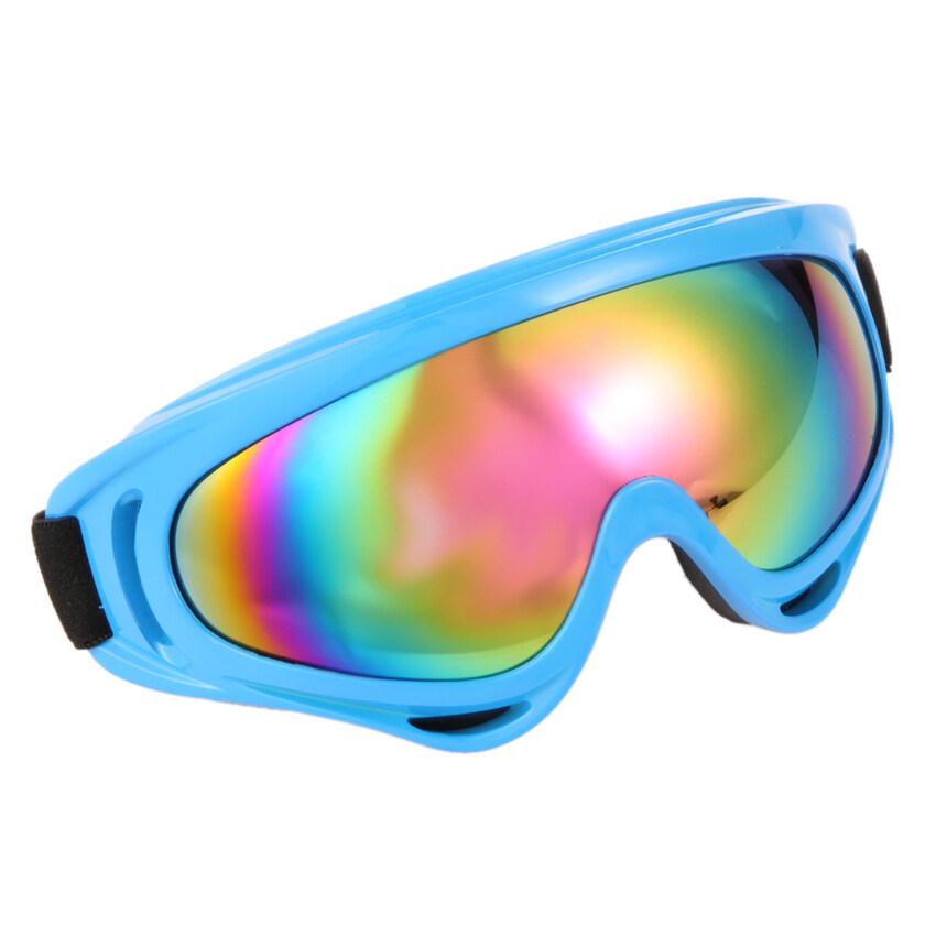 UJS Motorcycle Ski Dustproof Goggles (Blue)