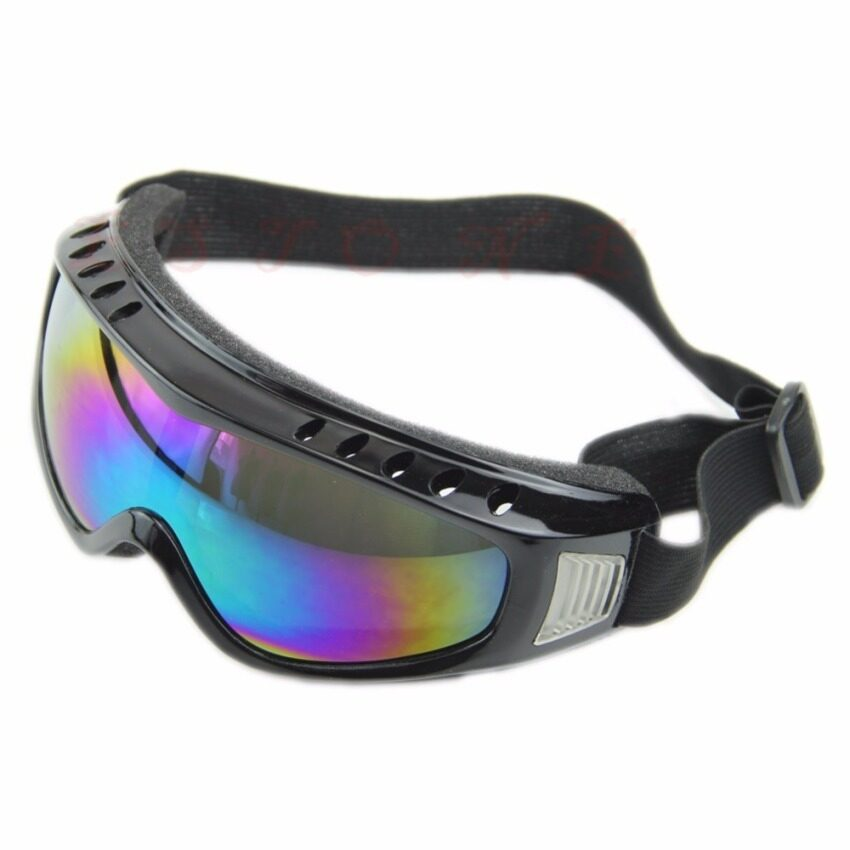 UJS U119 Tactical Paintball Clear Glasses Wind Dust Protection Airsoft Goggles Motorcycle (Intl)
