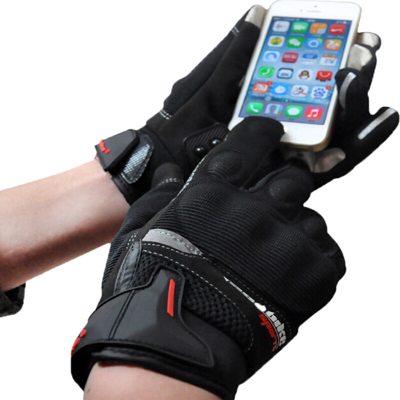 Unisex Motorcycle Gloves Off-road Racing Gloves Touch Screen Guantes Moto Luva Motoqueiro No-Slip Outdoor Durable - Intl