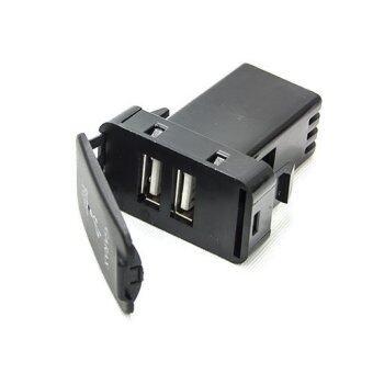 USB CHARGER สวิตท์Toyota type B USB-GARAX-TOYOTA-B (สีดำ)