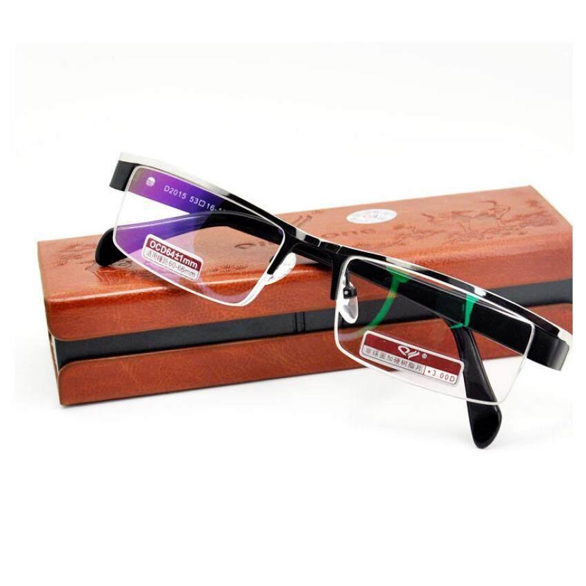 W332 Titanium alloy Non spherical light eyeglasses frame rimless men Women fashion compu ...