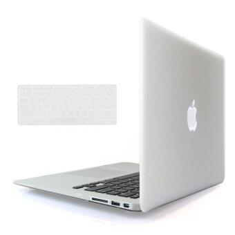 Welink 3ใน1 ด้าน Apple MacBook Air 33.02ซมเคส/นิ่ม-แข็งพลาสติกฝาเคส Touch+ป้องกันฝุ่นปลั๊ก+แป้นพิมพ์ปกสำหรับ Macbook Air 33.02ซม [รุ่น: A1369/A1466] (เคลียร์)