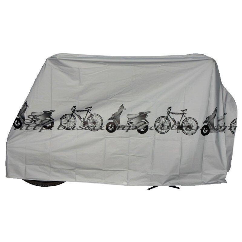 Wins ผ้าร่มสำหรับคลุมรถจักรยานยนต์ รุ่น AL-BCO - สีเงิน