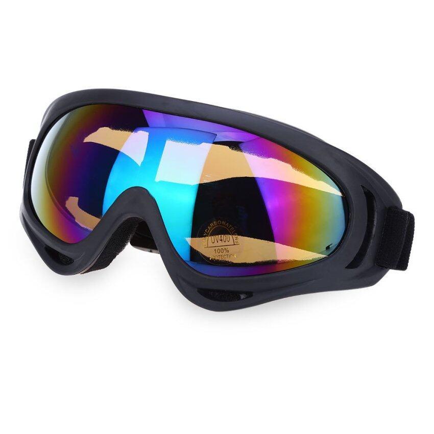 X400 ลมการขี่จักรยานมอเตอร์ไซค์ Airsoft จักรยานวิบากแว่นตาแว่นตาสวาท (คัลเลอร์ฟูล)
