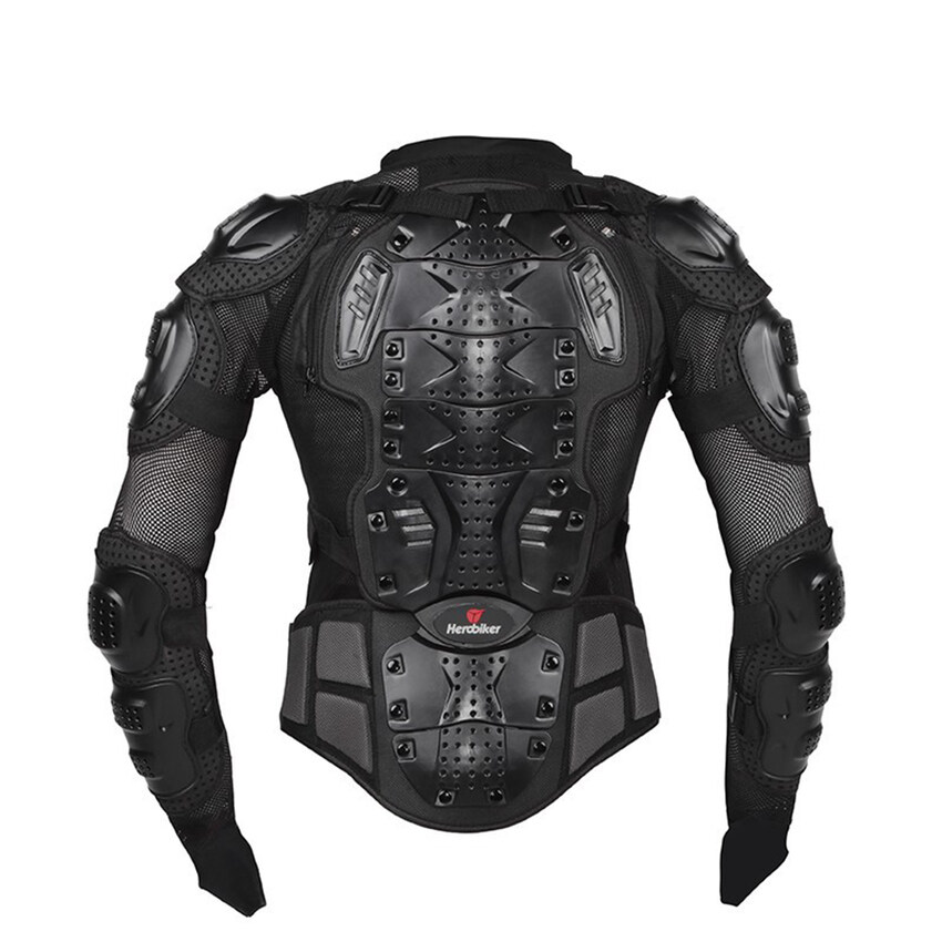 YJS Professional Motorcycle Body Protection Motorcross Racing Full Bodyarmor Spine Chest Protective Jacket Gear - Intl