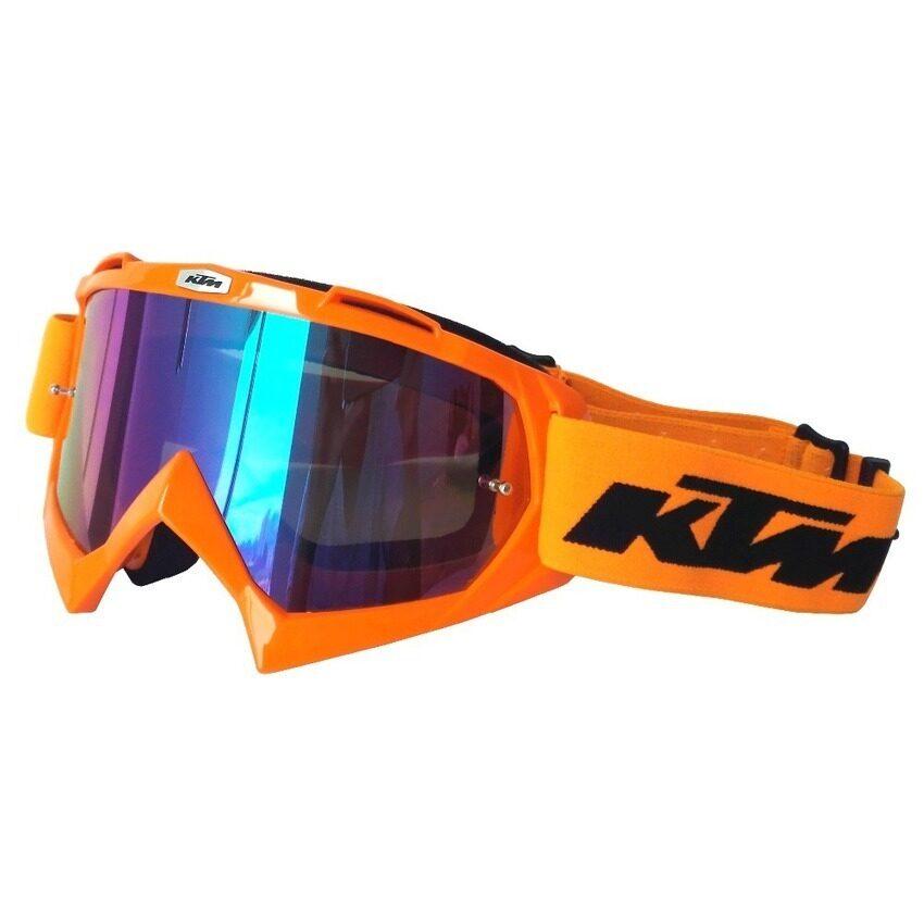 ZhuoDa KTM Motorcycle Goggle Dirt Bike Downhill Glasses MotocrossOff-Road Eyewear ATV Gafas-Orange - intl