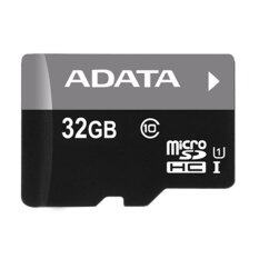 Adata MicroSD 32GB Class10 UHS-I with SD Adapter (Black)