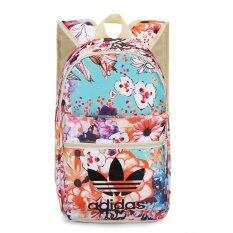 Adidas Backpack กระเป๋าเป้กีฬา Nylon 85% Polyester 15% (ลายดอกไม้)