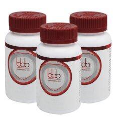 BBB อาหารเสริมลดน้ำหนัก บีบีบี 3 กระปุก (30 แคปซูล/กระปุก)