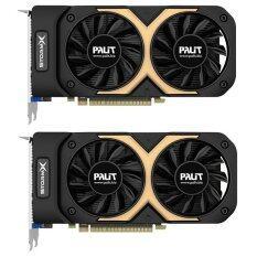 Palit การ์ดจอ รุ่น GTX750 Ti StormX Dual (2GB DDR5) (2pcs)