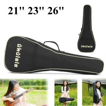 21/23/26 inch Ukulele Oxford Carry Case Professional High Quality Bag Guitar Bags 26inch - intl