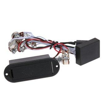 3 Band EQ Preamp Circuit For Bass Pickup Active (image 0)