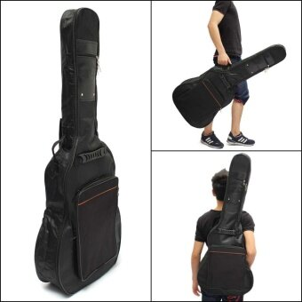 41'' Acoustic Guitar Gig Bag Soft Case Double Strap Padded Backpack Waterproof - intl