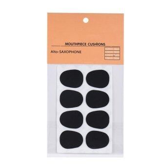 8pcs Alto/ Tenor Saxophone Sax Mouthpiece Cushions Patches PadsSilicone Material Thickness 0.5mm - intl