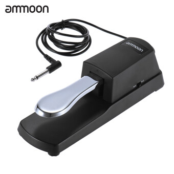 ammoon Piano Keyboard Sustain Damper Pedal for Casio Yamaha Roland Electric Piano Electronic Organ - intl