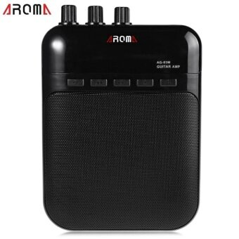 Harga AROMA AG - 03M Portable Charging 3W Mini Guitar Amplifier - intl