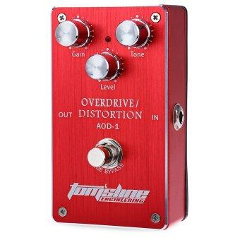 Harga Aroma AOD - 1 Metal Electric Guitar Effect Pedal Overdrive Distortion True Bypass Design Accessory