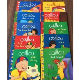 Caillou set 20 books หนังสือเด็กจากแคนนาดา
