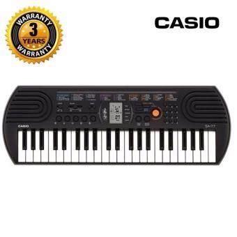 Casio คีย์บอร์ด รุ่น SA76 - ฟรี อแดปเตอร์ และรับประกันศูนย์ 3ปี