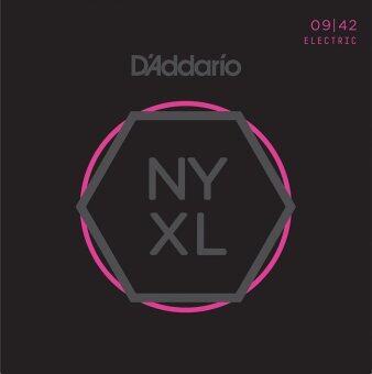 D'ADDARIO สายกีต้าร์ไฟฟ้า รุ่น NYXL0942 Nickel 09-42