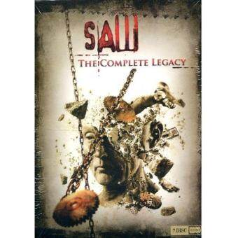DVD Saw: The Complete Legacy ซอว์ เกม ตัดต่อตาย (7 DVDs)