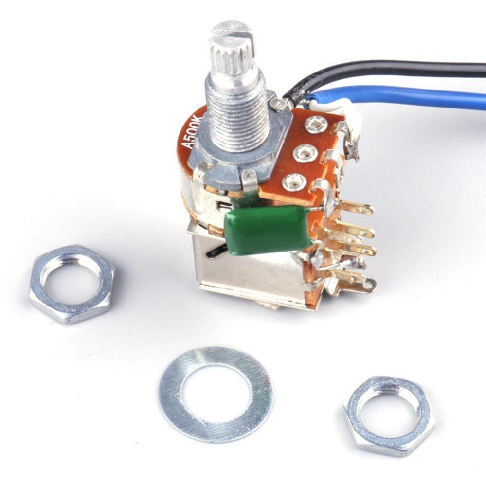 Electric Guitar Wiring Harness Kit 2V2T with Pot Jack 3 Way ...