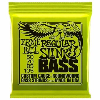 สายเบสไฟฟ้า Ernie Ball Regular Slinky Nickel Wound Bass Set (50 - 105)