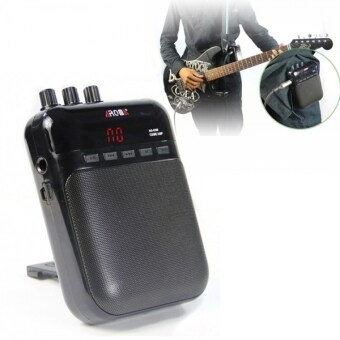 Harga 5W 4Ω AROMA AG-03M Portable Multifunction Charging Mini Guitar Apm Recorder - Intl - Intl