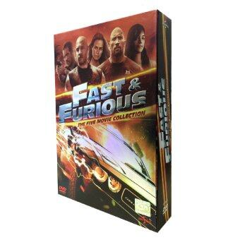 Harga Fast and Furious Boxset (Five Movie Collection)
