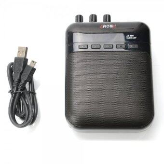 Harga 5W 4Ω AROMA AG-03M Portable Multifunction Charging Mini Guitar Apm Recorder