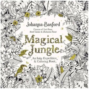 Harga หนังสือ MAGICAL JUNGLE (COLORING BOOK): AN INKY EXPEDITION &COLOURING BOOK