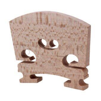 Maple 4/4 Violin Fiddle Bridge Set of 15 Burlywood - 2