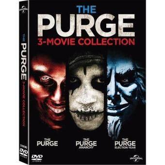 Media Play THE PURGE Collection 1-3/คืนอำมหิต คอลเลคชั่น 1-3 DVD