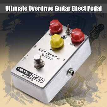 MOSKY Ultimate Drive Overdrive Guitar Effect Pedal Full Metal Shell True Bypass - intl ราคาถูก