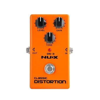 NUX เอฟเฟค กีตาร์ Guitar Pedal Effects Distortion DS-3