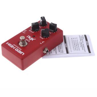 NUX HG-6 มีผลกำไรสูงกีต้าร์ไฟฟ้าแป้นบิดเบือนความจริงเลี่ยงสีแดง (image 3)