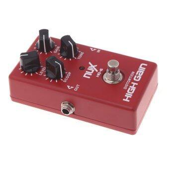 NUX HG-6 มีผลกำไรสูงกีต้าร์ไฟฟ้าแป้นบิดเบือนความจริงเลี่ยงสีแดง (image 4)