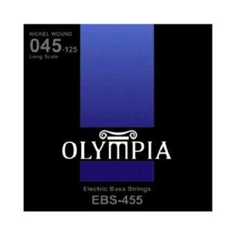 Olympia สายกีต้าร์เบส ชุด BASS String รุ่น EBS-455 Set 5