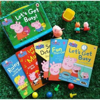 Harga Peppa Pig Let's Get Busy Activity books