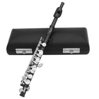 Piccolo Ottavino Half-size Flute Plated C Key Cupronickel with Cork Grease Cleaning Cloth Screwdriver
