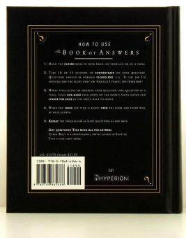 The Book of Answers English original book - intl