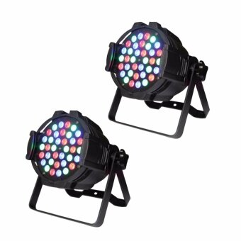 U'King 2pcs Par Light with 36 LEDs RGB Stage Effect Light DMX SoundControl for DJ Show Disco Home Party - intl