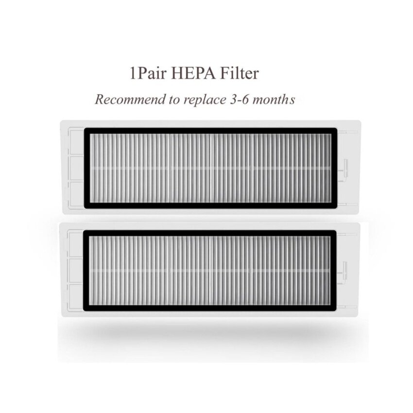 1 Pair Replacement Xiaomi Mi Robot Vacuum Cleaner Hepa Filter - intl