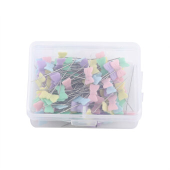 100pcs DIY Sewing Patchwork pins Quilting tool Bow tie - intl